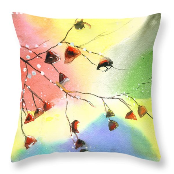Christmas 1 Throw Pillow by Anil Nene