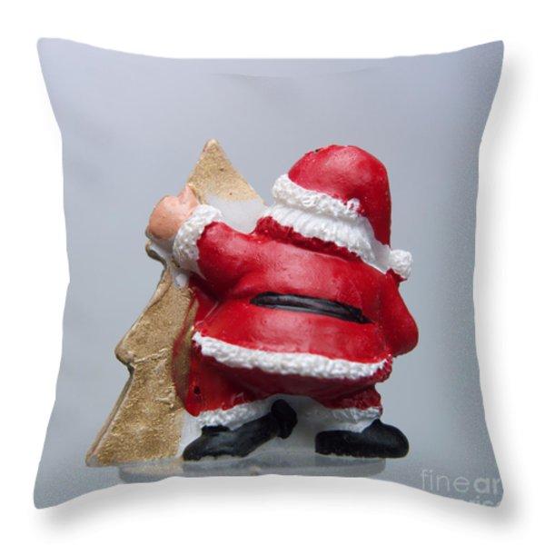 Christmas decoration  Throw Pillow by BERNARD JAUBERT