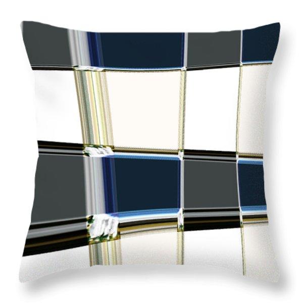 Chrome Throw Pillow by Lj Lambert
