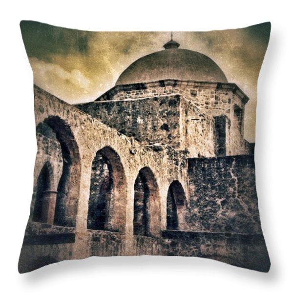 Church Arches And Dome Throw Pillow by Jill Battaglia
