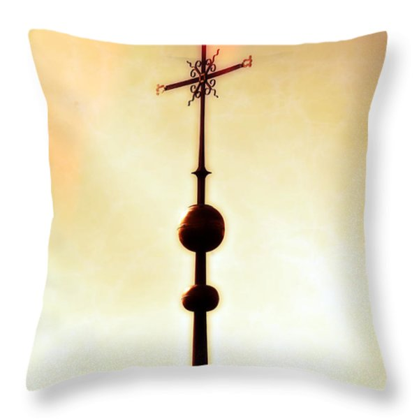 church spire Throw Pillow by Joana Kruse