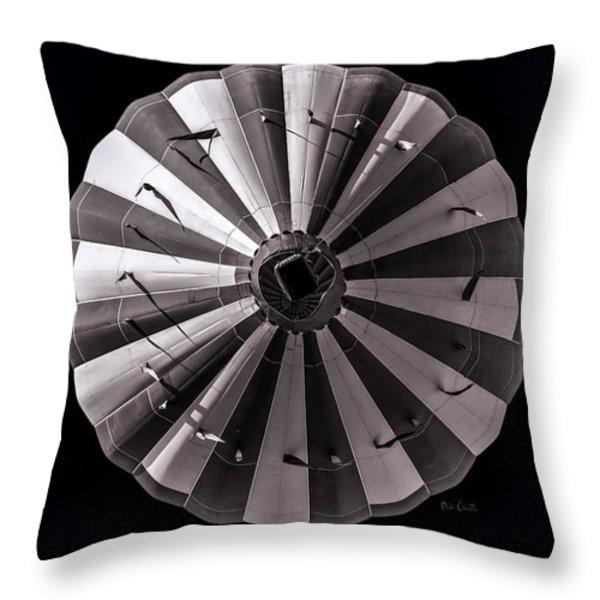 Circle Throw Pillow by Bob Orsillo