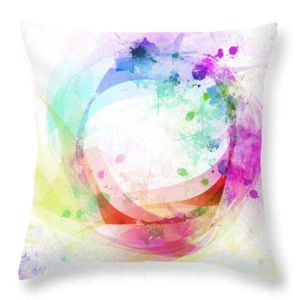 circle of life Throw Pillow by Setsiri Silapasuwanchai