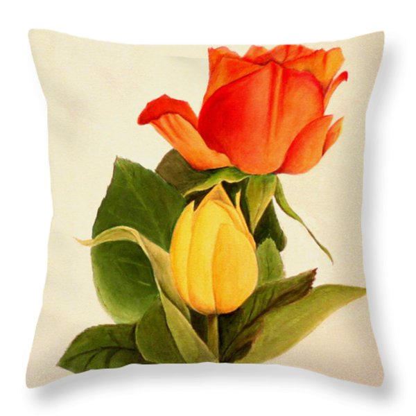 Clarity Throw Pillow by Jane Autry