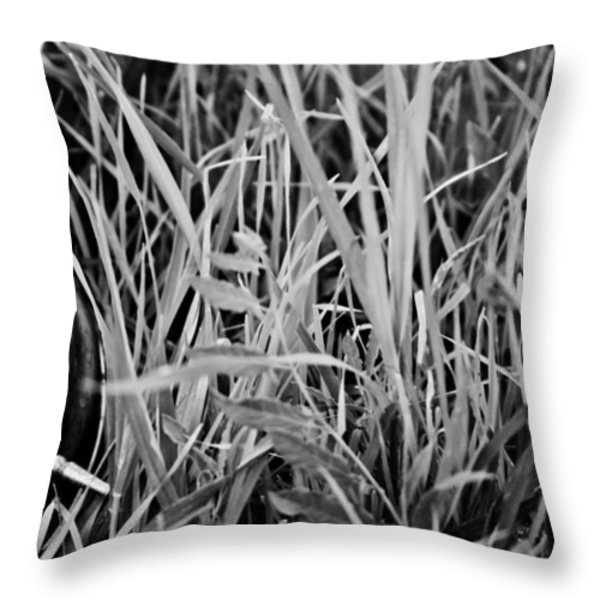 Clocks away Throw Pillow by Nomad Art And  Design