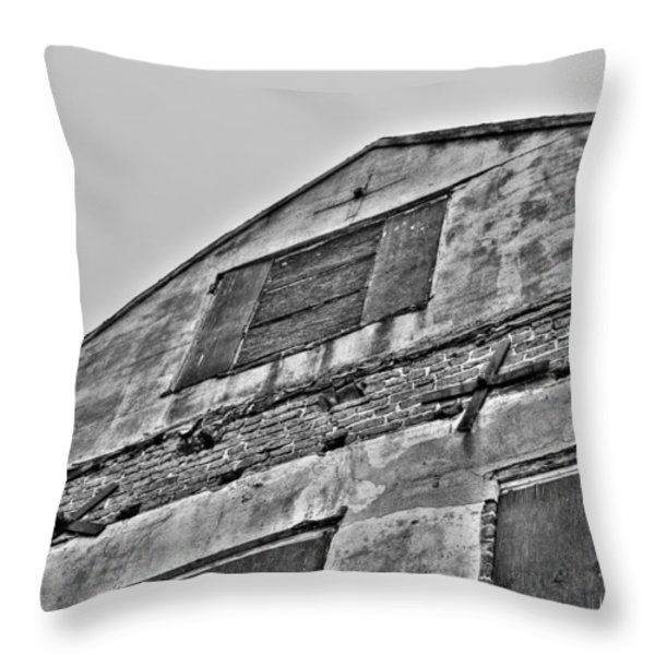 Closed Throw Pillow by Andrew Crispi