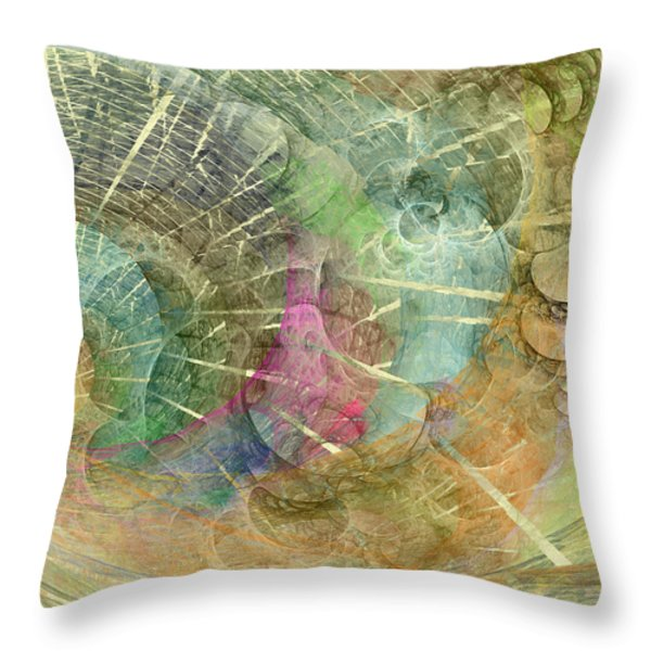 Coastal Cosine Gem  Throw Pillow by Betsy A  Cutler
