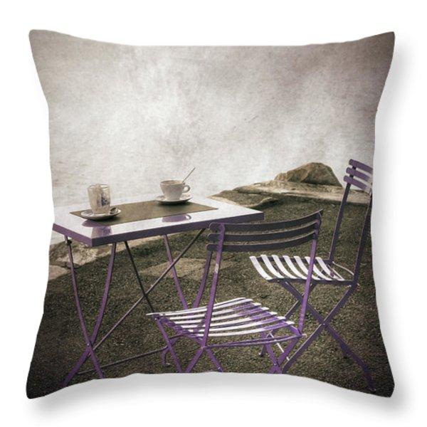 coffee table Throw Pillow by Joana Kruse