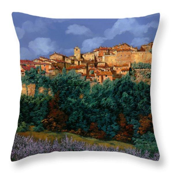 colori di Provenza Throw Pillow by Guido Borelli