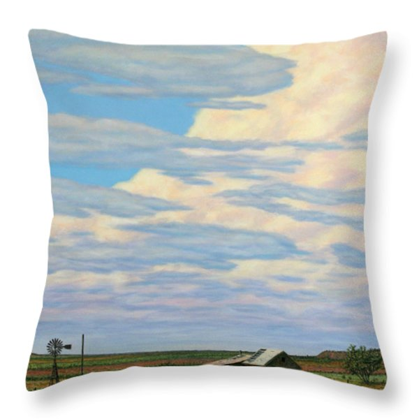 Come In Throw Pillow by James W Johnson