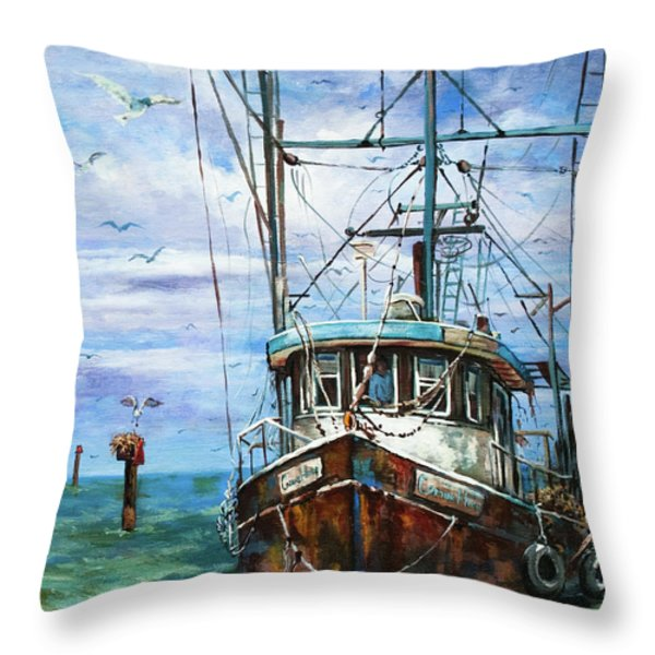 Coming Home Throw Pillow by Dianne Parks