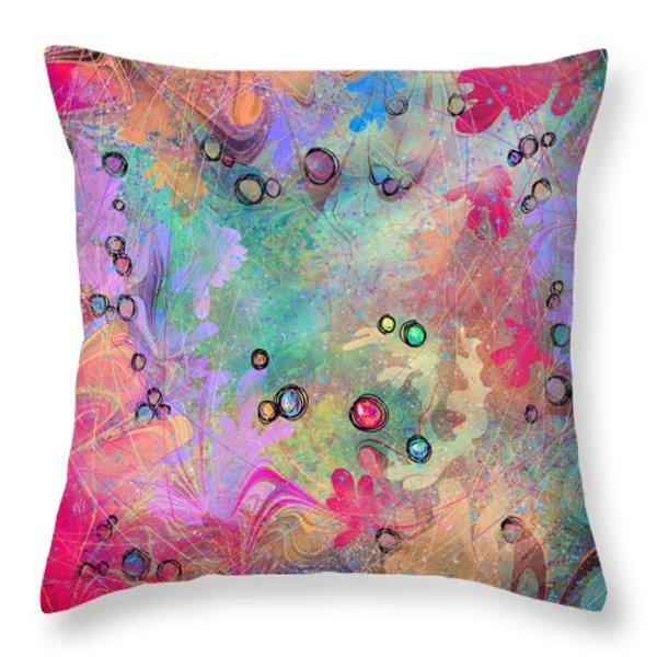 Community Throw Pillow by Rachel Christine Nowicki