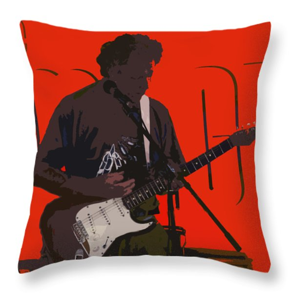 Concentration Throw Pillow by Ian  MacDonald