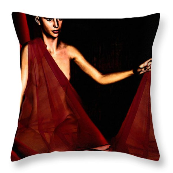 Conquerable Quest Throw Pillow by Lourry Legarde