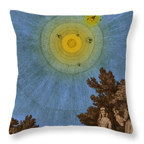 Conversations On The Plurality Throw Pillow by Science Source