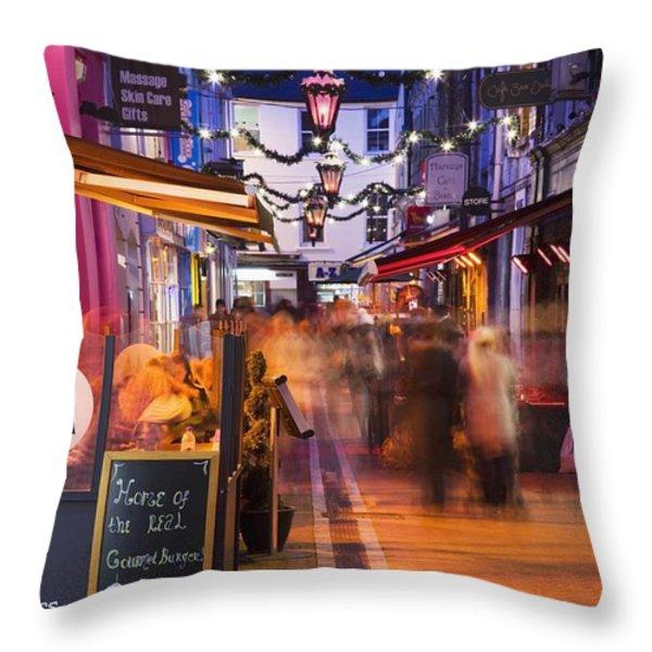 Cork, County Cork, Ireland A City Throw Pillow by Peter Zoeller