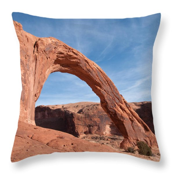 Corona Arch Throw Pillow by Bob and Nancy Kendrick