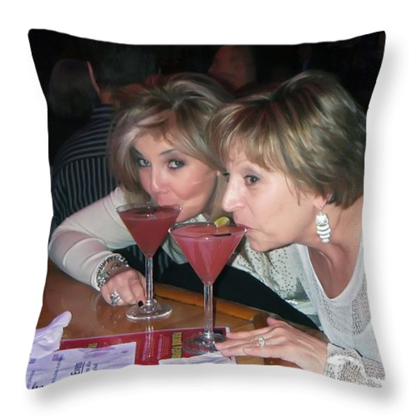 Cosmo Throw Pillow by Brian Wallace