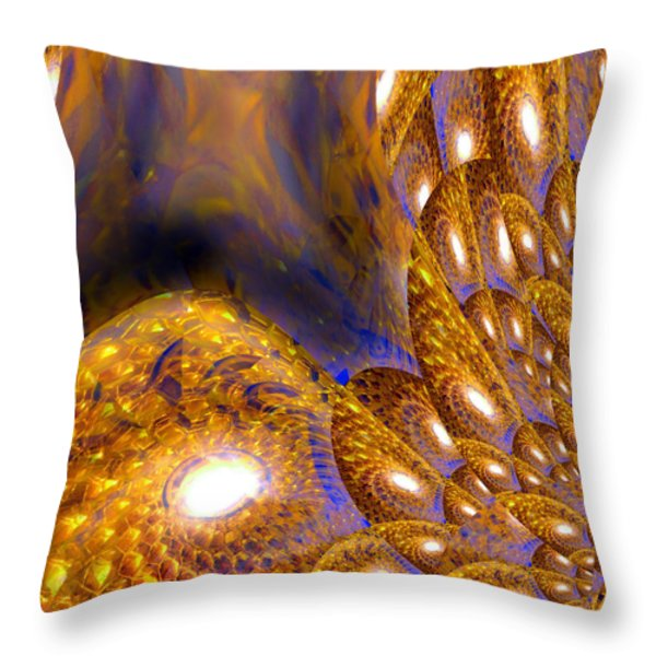 Creative Thought Throw Pillow by Michael Durst