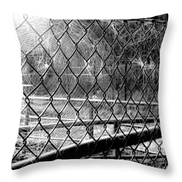 Crosslinked - Vernetzt Throw Pillow by Mimulux patricia no