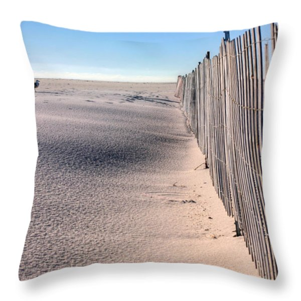 Crowds Throw Pillow by JC Findley