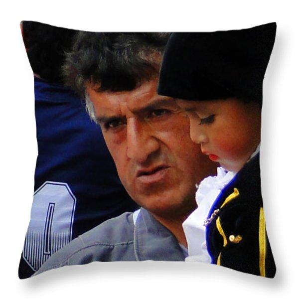 Cuenca Kids 89 Throw Pillow by Al Bourassa