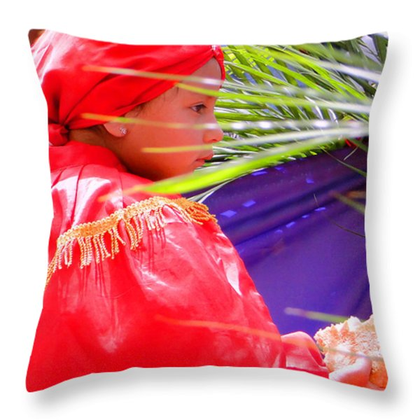 Cuenca Kids 99 Throw Pillow by Al Bourassa