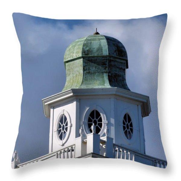 Cupola Throw Pillow by Janice Drew