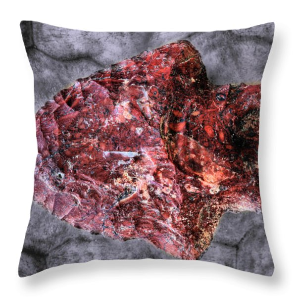 Cutting Edge Throw Pillow by JC Findley