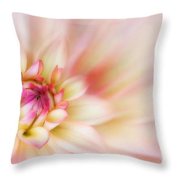 Dahlia Throw Pillow by John Edwards