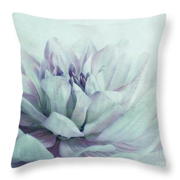 dahlia Throw Pillow by Priska Wettstein