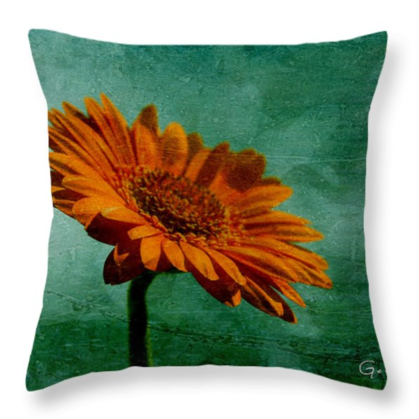 Daisy Daisy Throw Pillow by Nomad Art And  Design