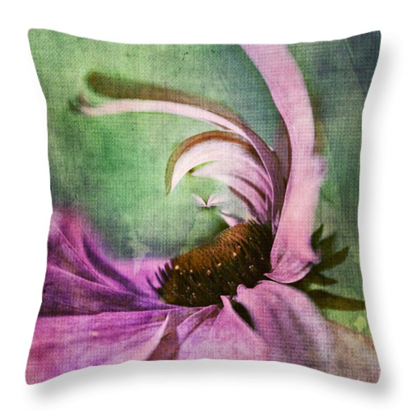 Daisy Fun - A01v042t05 Throw Pillow by Variance Collections