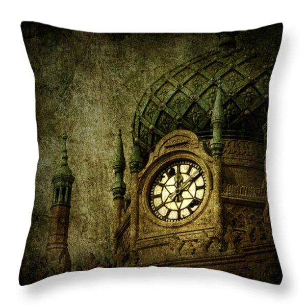 Damaged Charisma Throw Pillow by Andrew Paranavitana