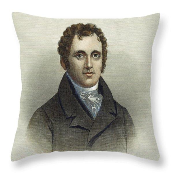 Daniel D. Tompkins (1774-1825) Throw Pillow by Granger