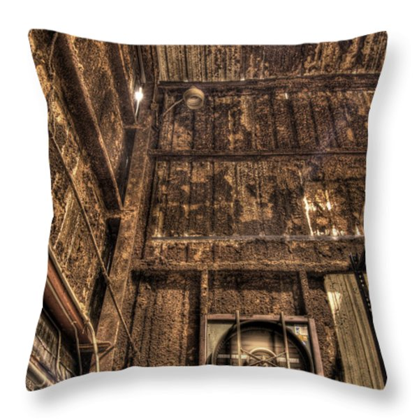 Darkness Darkness Throw Pillow by William Fields
