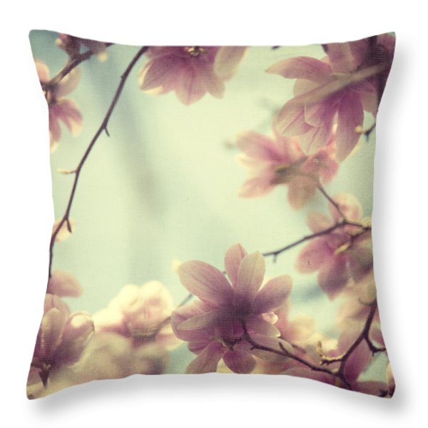 Daydream Believers Throw Pillow by Irene Suchocki