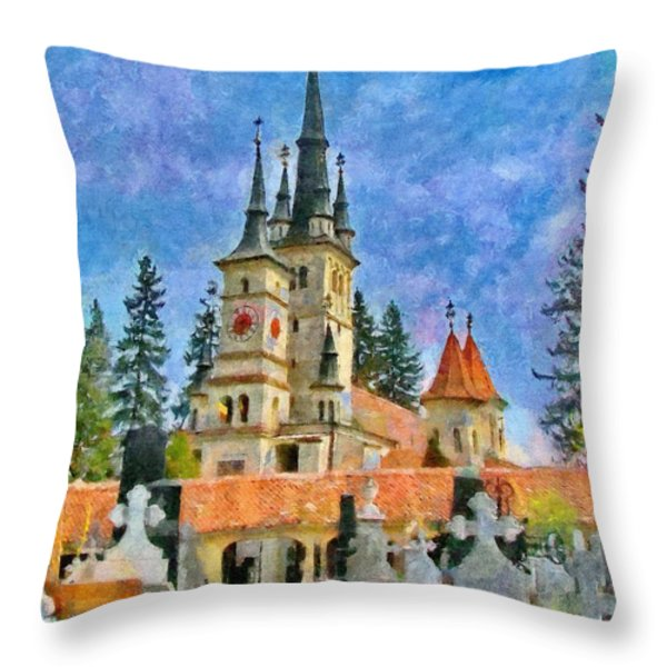 Death And Life Throw Pillow by Jeff Kolker
