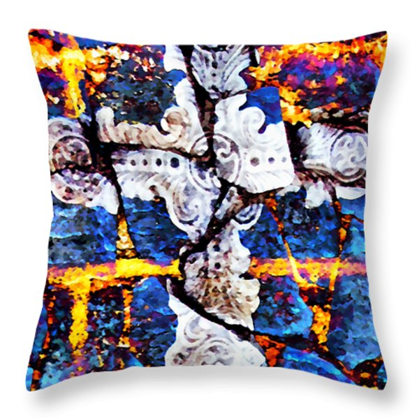 Death Could Not Hold You Throw Pillow by Angelina Vick