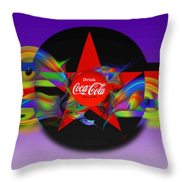 Deep Red Throw Pillow by Charles Stuart