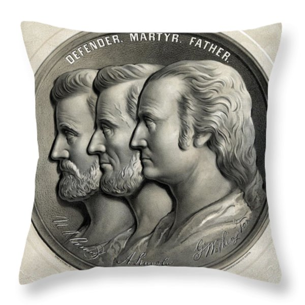 Defender Martyr Father Throw Pillow by War Is Hell Store