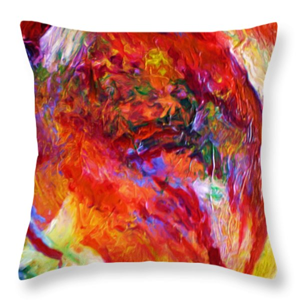 Delight Throw Pillow by Michael Durst