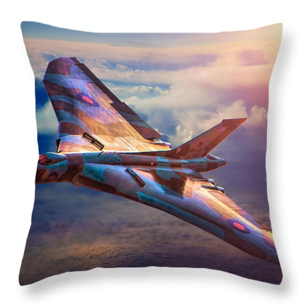 Delta Lady Throw Pillow by Chris Lord