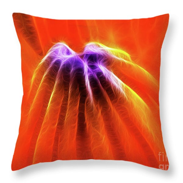 Desire Throw Pillow by Wingsdomain Art and Photography