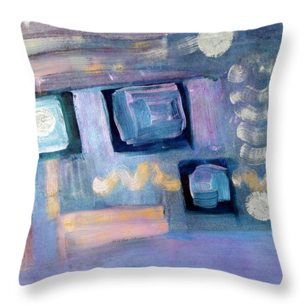 Desktop  Throw Pillow by Don  Wright