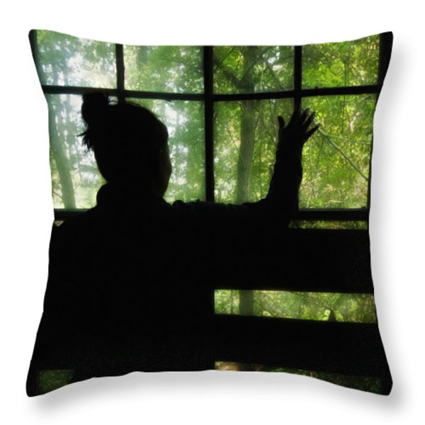 Desperate Ways Throw Pillow by Evelina Kremsdorf