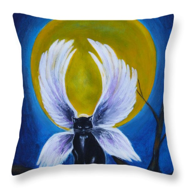 Devi Throw Pillow by Diana Haronis