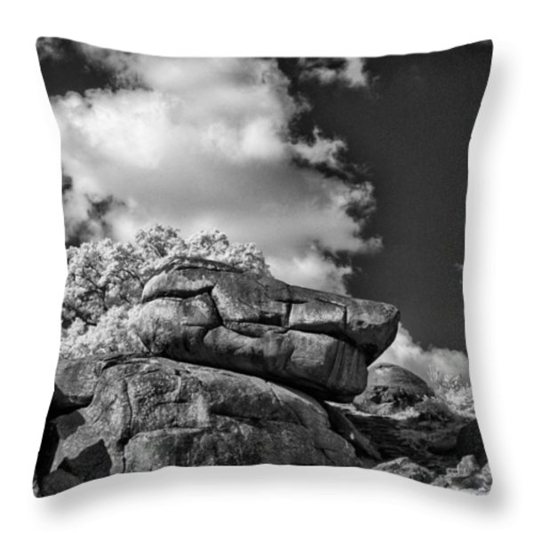 Devil's Den - 33 Throw Pillow by Paul W Faust -  Impressions of Light