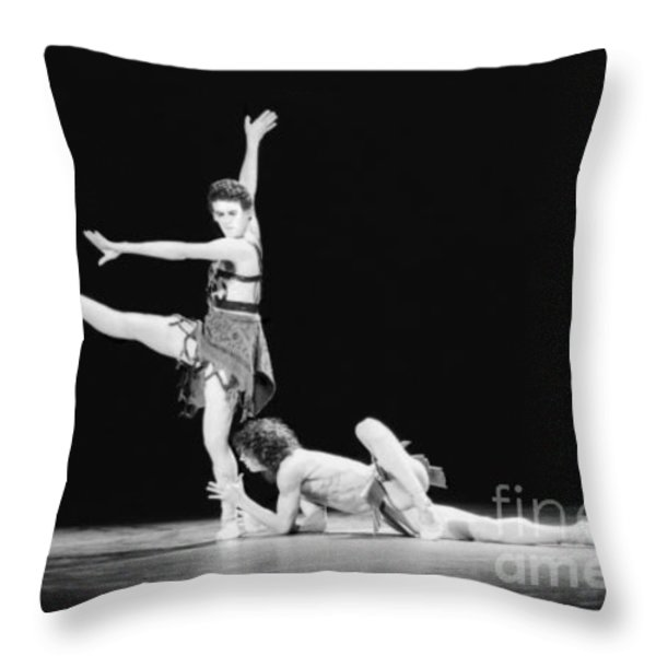 Devotion Throw Pillow by Philippe Taka