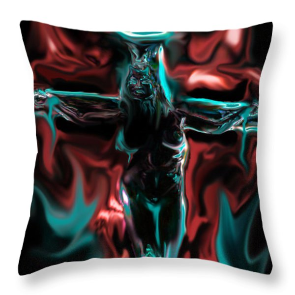 Die 4 Your Sins Throw Pillow by Tbone Oliver